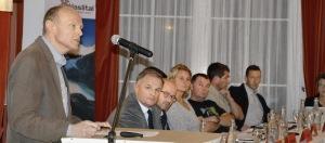 Präsident Andreas Michel und seine Kollegen vom Vorstand der Haslital Tourismus AG, konnten sich durchsetzen.